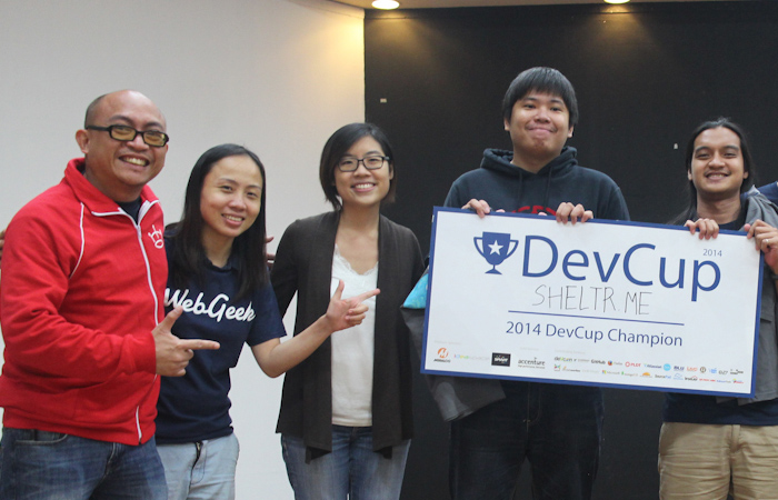 WebGeek DevCup 2014 Champion Winners